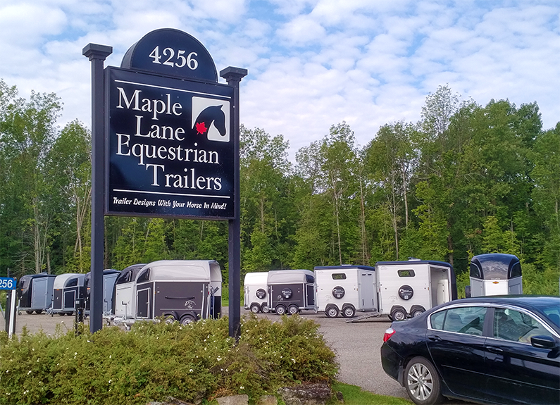 Maple Lane Equestrian Trailers, Horse Trailers, Böckmann Horse Trailers