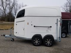 Comfort Western Horse Trailer with Alloy wheels and tie bar